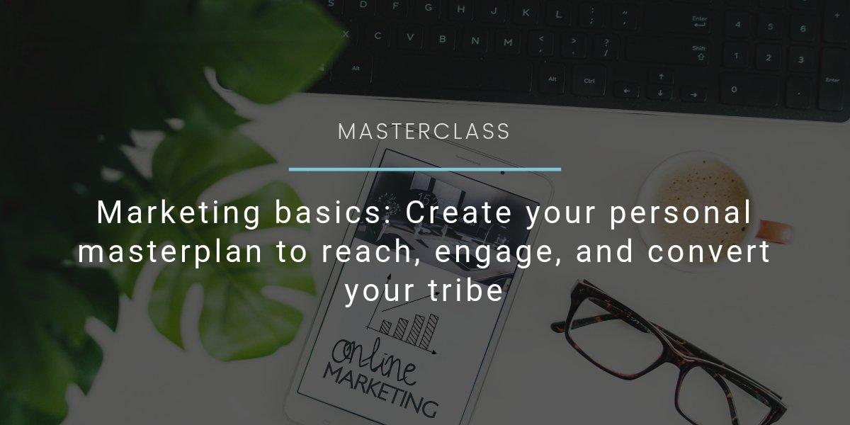 Marketing Basics Webseite Event header