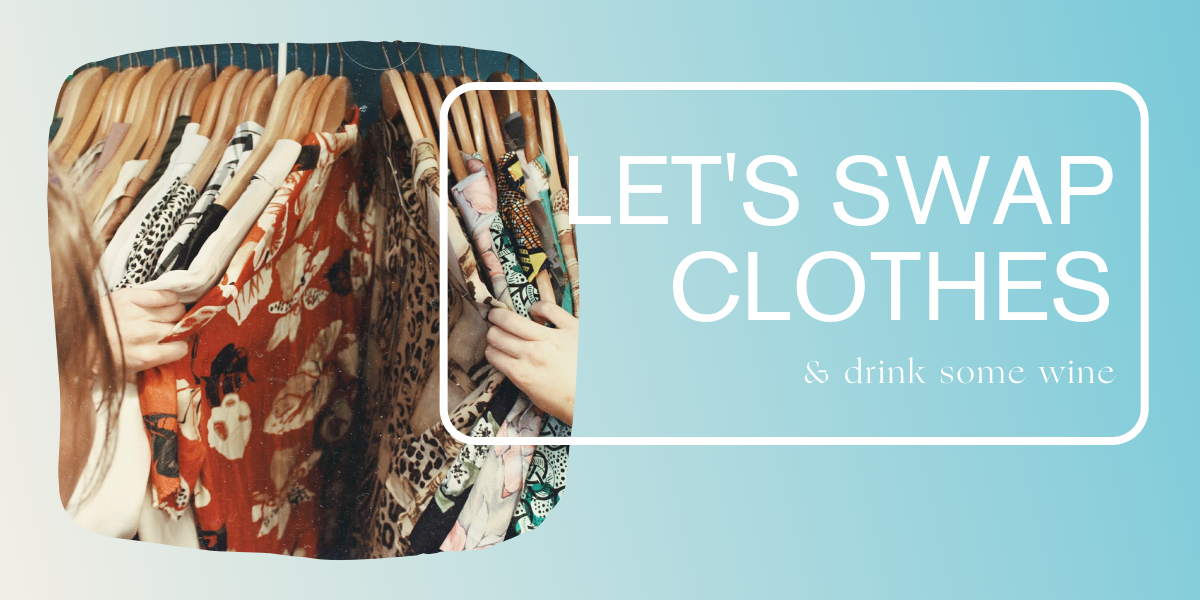 Clothes Swap Community events Webseite Event header 1200px x